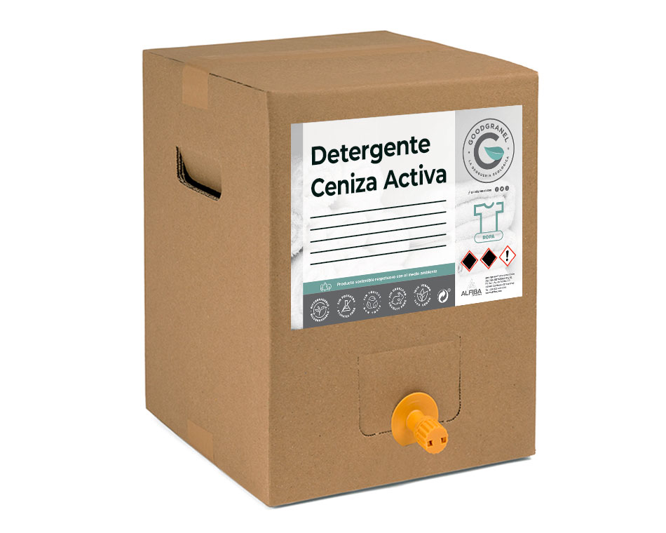 Detergente Ceniza Activa